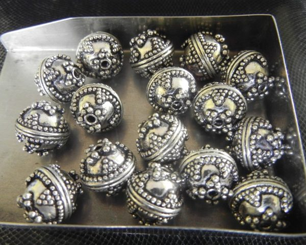 nellyandon bali sterling hand genuine two metal beads on silver mm best x images pinterest crafted